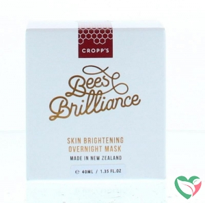 Bees Brilliance Skin brightening overnight mask
