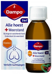 Dampo Alle hoest + weerstand