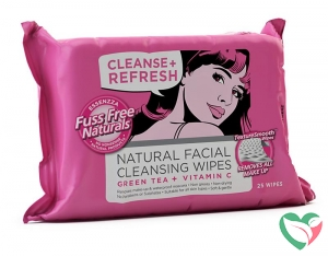 Fuss Free Nat Face wipes C+ refresh