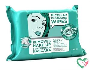 Fuss Free Nat Face wipes C+ micellar