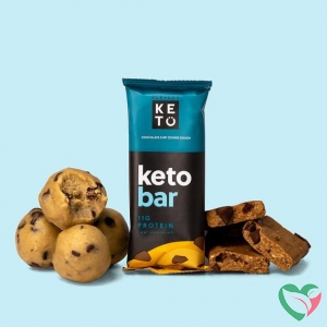 Go-Keto Keto koolhydraatarme reep chocolate chip cookie