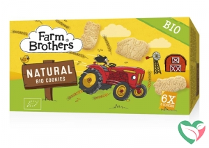 Farm Brothers Kids cookies naturel 6x uitdeelzakje