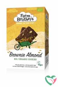 Farm Brothers Brownie & almond koekjes bio & vegan