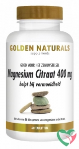 Golden Naturals Magnesium citraat 400 mg
