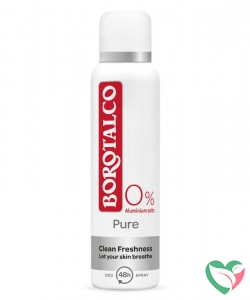 Borotalco Deodorant spray pure
