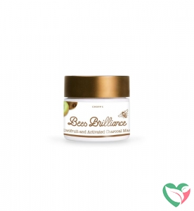 Bees Brilliance Kiwifruit & actrivated charcoal mask