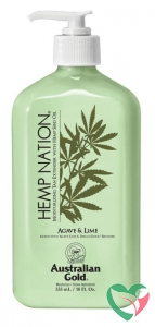 Australian Gold Hemp nation tan extender agave & lime