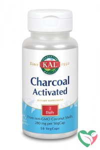 KAL Charcoal activated - actieve kool 280 mg