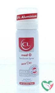 CL Cosline Red line med deo spray
