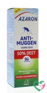 Azaron Anti muggen 50% deet spray
